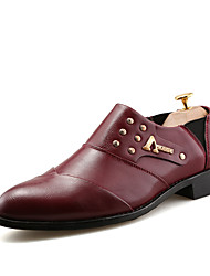 Autumn Men's Casual Business Leather Shoes Wedding Shoes