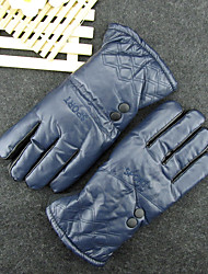 Men'S Leather Gloves In Autumn And Winter Warm And Waterproof Wind And Sand Thickening