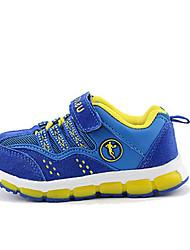 Boy's Sneakers Spring / Fall Comfort PU Casual Flat Heel Magic Tape Blue / Khaki Others