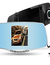 Lingdu A206 Rear-View Mirror Dual-Lens Drive Recorder With Reverse Image