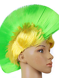 1PC Punk Comb Wig for Halloween Costume Party Random Color