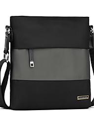 Men Oxford Cloth Formal Office & Career Shoulder Bag Black