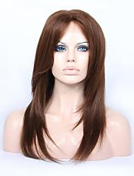8-12 polegadas frente braizlian remy virgem do cabelo humano sem cola / rendas em camadas yk perucas direitas para os afro-americanos