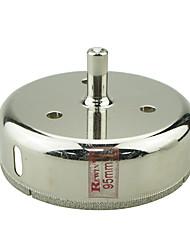 Rewin nástroj legovaných ocelí skleněné otvory otvírák díra velikosti 95mm 2ks / box