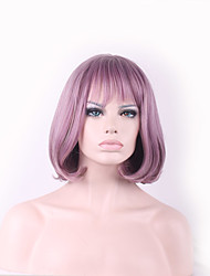 High Fashion Straight Taro Wig Women Wigs Natural Hair Heat Resistant Synthetic Short Wigs With Bangs