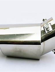 automobile queue gorge tuyau d'échappement modifié silencieux tuyau d'échappement modifié kit garniture