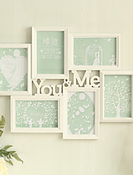 1PC YOUME Wedding Europea-Style Cozy Holiday Gift Family Bureaux Counter Decorations Photo Frame