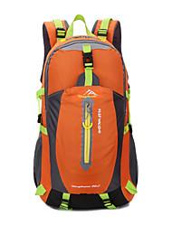 40 L Tourenrucksäcke/Rucksack Camping & Wandern Draußen Wasserdicht / tragbar / Atmungsaktiv Grün / Rot / Schwarz / Blau / OrangeNylon /