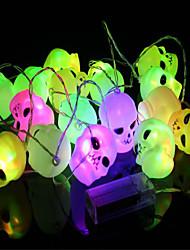barre de lumière des lampes de tête fantôme hallowmas conduit props vacances 16 lampe gradient porte rampe