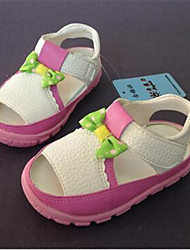 Girl's Sandals Summer Sandals / Round Toe PVC Casual Flat Heel Others Yellow / Pink Others