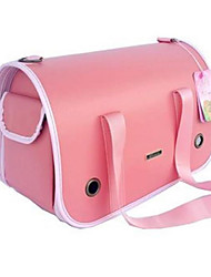 Cat / Dog Carrier & Travel Backpack / Sling Bag Pet Carrier Portable / Breathable Pink Leather