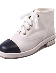Casual shoes black Bai Seping han edition white shoe heels for women's shoes
