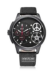 HYJ 2016 new arrvial leather fashion quartz  men  watch 612