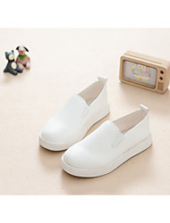 Girl's Loafers & Slip-Ons Spring / Summer / Fall Closed Toe Leatherette Casual Flat Heel Others Black