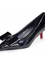 Women's Shoes Patent Leather Summer Heels Heels Casual Stiletto Heel Others Black / Red / Gray / Fuchsia