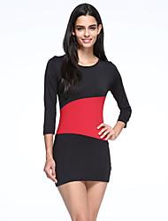 женская мода Клубная одежда партия мини-платье