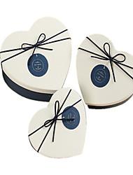 coffret cadeau en forme de coeur peut être un trois-pièces coffrets cadeaux de bonbons amateurs de costume amour de vacances 21 * 17 * 8