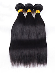 3pcs/lot 10-28Unprocessed Peruvian Hair Human Hair Weave Straight Hair Human Hair Weft Hair Extension
