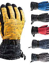Motorcycle Gloves Winter Ski Mountaineering Gloves Waterproof Windproof Gloves