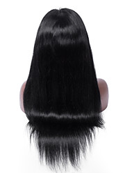 Top Selling No shedding No tangle Straight Human Hair Swiss Lace Brazilian Human Hair Full Lace Wig