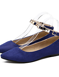 Women's Flats Spring / Summer / Fall / Winter Comfort / Pointed Toe / Closed Toe  Casual Flat Heel Hook & Loop