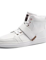 Big Size Men Fashion Skateboard Shoes High top Boots