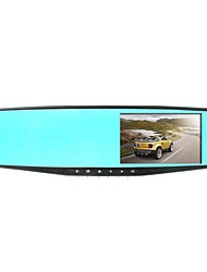 Jelee L9000 4.3 Inch Double Lens Wide-Angle Rearview Mirror HD Vision Recorder