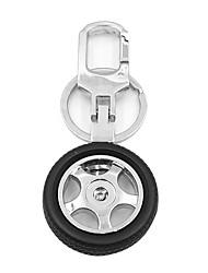ziqiao porte-clés de la chaîne de création de moyeu de roue porte-clés design en métal clé de voiture cadeau frais pour l'homme