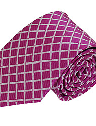 Men Leisure Jacquard Necktie Polyester Silk Tie for Wedding Party