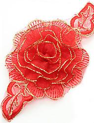 Stoff-Überall-Dekorative Akzente(Rot)
