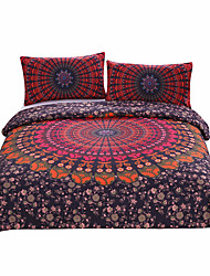 BeddingOutlet Mandala Bedding Concealed Bedspread Duvet Cover Set 3Pcs Boho Bedlinen Twin Full Queen King New