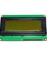 Основной LCD 20x4 характер - черный на зеленом 5v