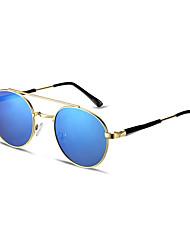 Women's Fashion Sunglasses Leisure Round PC Lens Anti-UV Multi-Color (1PC)