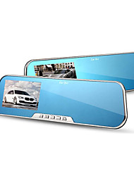 The 4.3 Inch Screen Optical Screen Anti Glare 5 Million Pixels D600S Wide-Angle Rearview Mirror Tachograph
