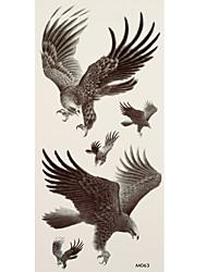 1 Временные тату Тату с животными eagle Вспышка татуировки Временные татуировки