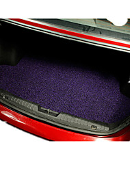 Wire Coil Car Carpet Microfiber Leather Car Environmental Protection Jet Back Pad