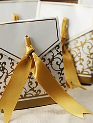12 Peça/Conjunto Titular Favor-Criativo Papel de CartãoCaixas de Ofertas Bolsas de Ofertas Latinhas Lembrança Jarros e Garrafas para