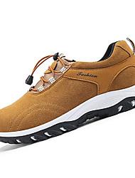 Men's Sneakers Spring / Fall Comfort Fabric Casual Flat Heel  Black / Blue / Yellow / Gray Sneaker