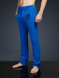 LOVEBANANA® Masculino Activo Calças Azul Real-38018
