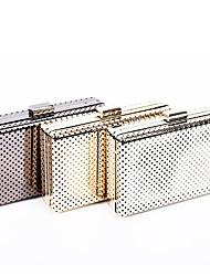 L.west Women Elegant High-grade Hollow Out Tin Box Evening Bag