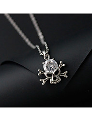 Necklace Choker Necklaces / Pendant Necklaces / Pendants Jewelry Alloy / Rhinestone Daily