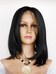 10-22inch Straight Natural Wigs Synthetic Lace Front Wigs