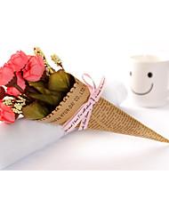 Polyethylene Wedding Decorations-1Piece/Set Artificial Flower Valentine's Day Classic Theme