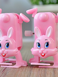 Wind-up Toy Novelty Toy / / Rabbit / / Plastic Pink For Kids