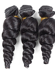 Bolin Hair 3 Pieces Loose Wave Human Hair Weaves Brazilian Texture Human Hair Weave