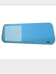 тахограф D630 HD анти блики зеркало заднего вида 4,3 экран двойной записи