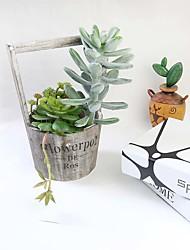 """1 Branch 1 Une succursale Mousse de polystyrène Plantes Fleur de Table Fleurs artificielles Total Length:12"""""""