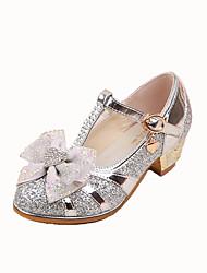 Mariage Habillé Décontracté Soirée & Evénement-Bleu Rose Argent-Talon Bas-Confort Light Up Chaussures-Ballerines-Synthétique