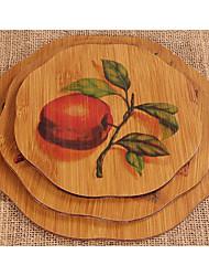 Bamboo Mat Anti-Hot Insulation Pad Table Mats Cheap Decorating Ideas Casserole Bowl Mat Mat
