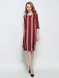 Women's Party/Cocktail / Club Sexy / Vintage Loose Split Slim Split Backless  Sheath Dress Strap Maxi Sleeveless